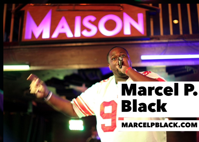 Marcel P Black